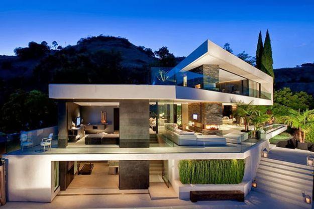 Case Moderne Con Piscina : Frossasco villa con piscina u ac geom davide camusso